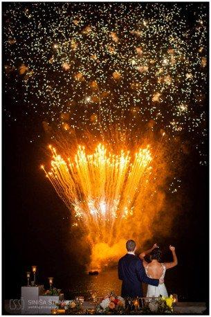 True destination wedding of Jon and Safa