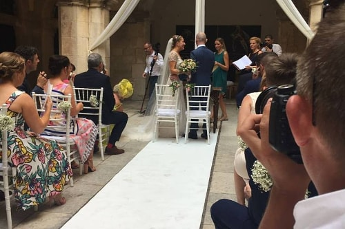 Claire and Rob wedding by Dubrovnik event