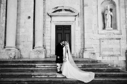 Clara and Leith wedding by Dubrovnik event