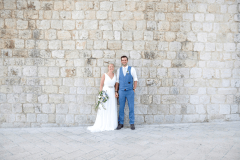Rosie and Doug wedding by Dubrovnik event