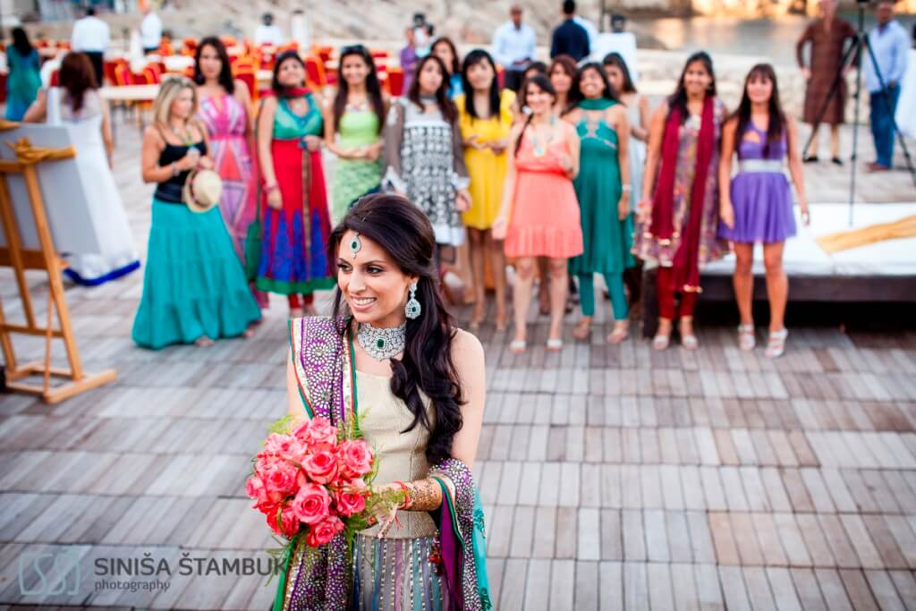 Dubrovnik Event Weddings Indian RishiShilpa 179