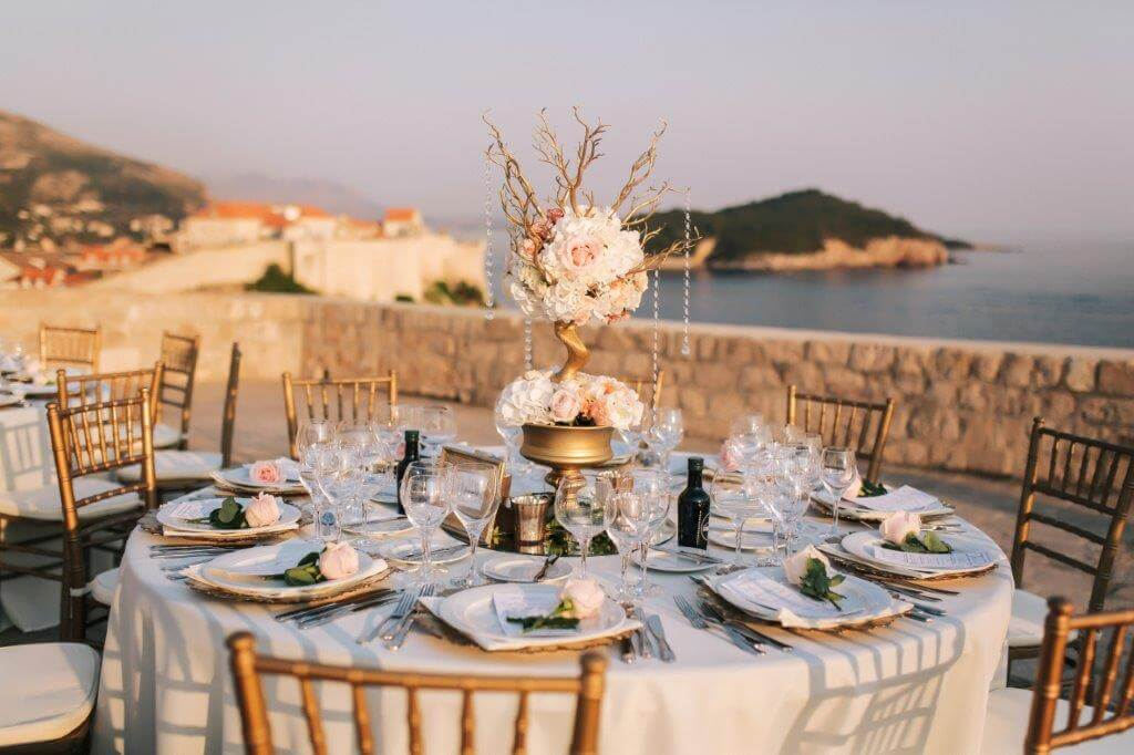 Dubrovnik event weddings Flowers 19