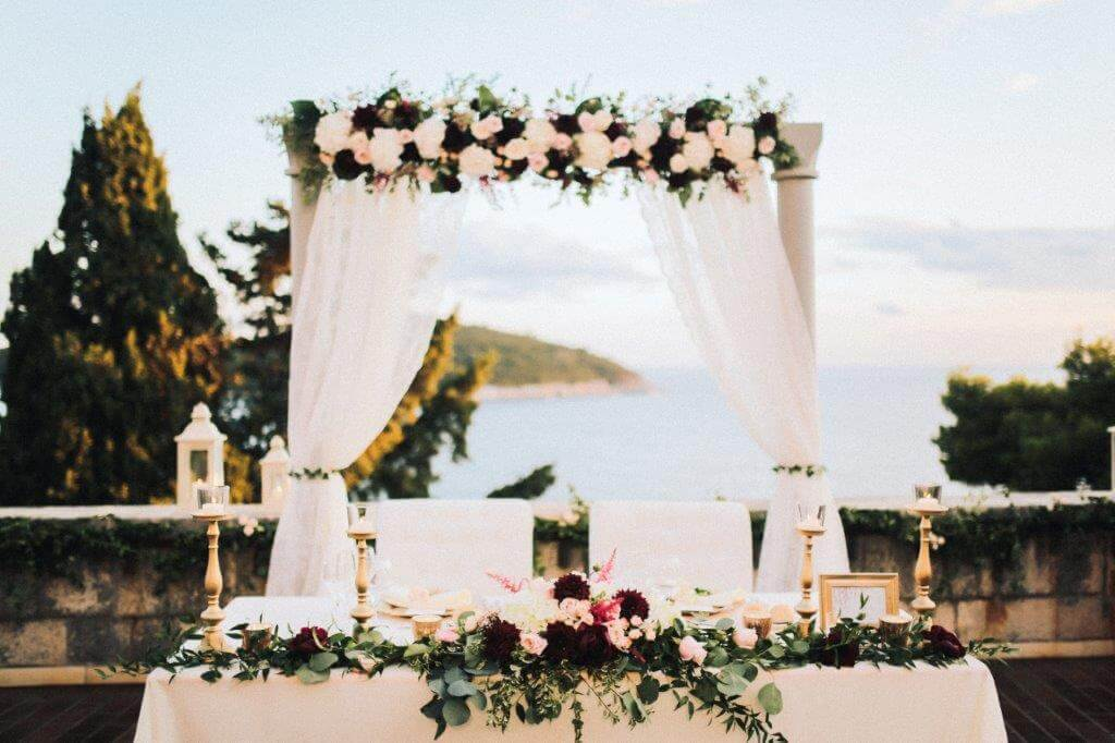 Dubrovnik event weddings Flowers 30