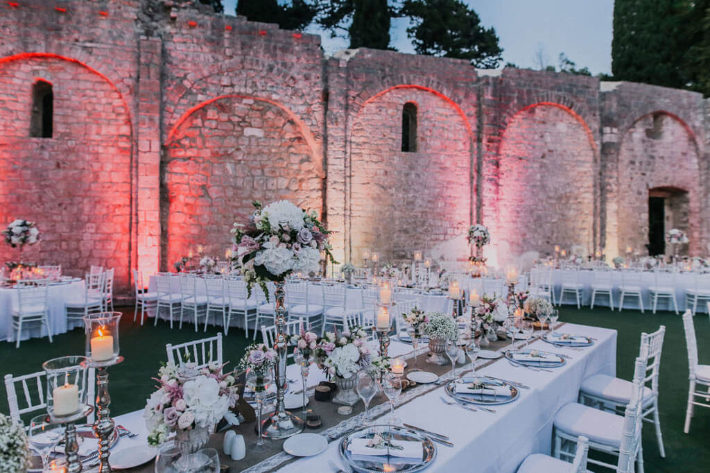 Dubrovnik event weddings Flowers 39