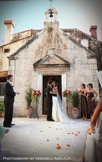 Dubrovnik event weddings church ceremony 04