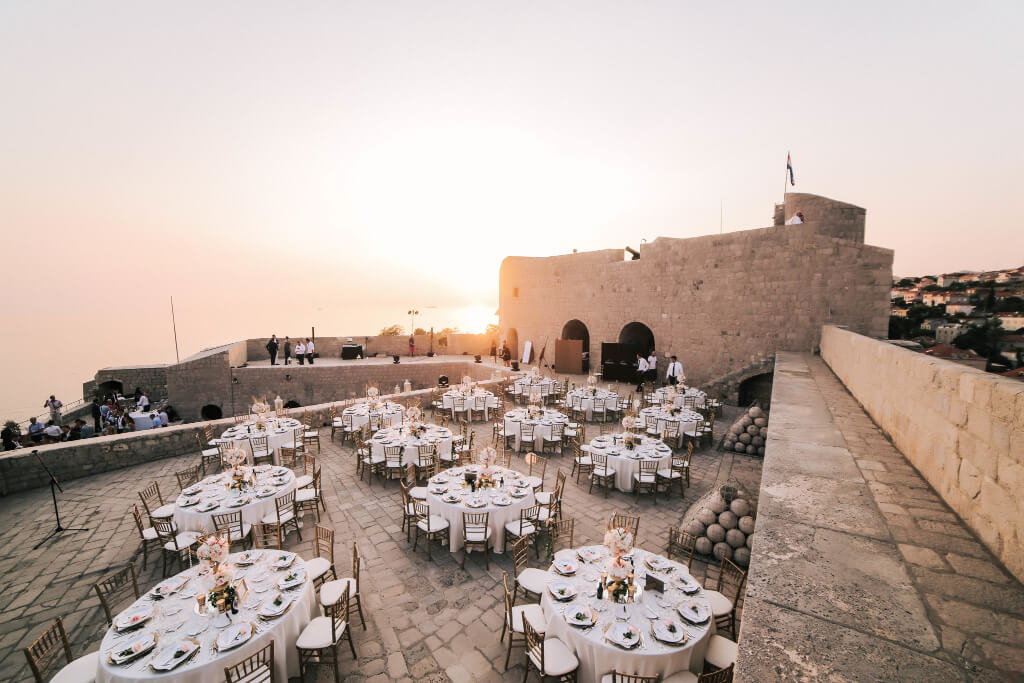 Dubrovnik event weddings reception 18
