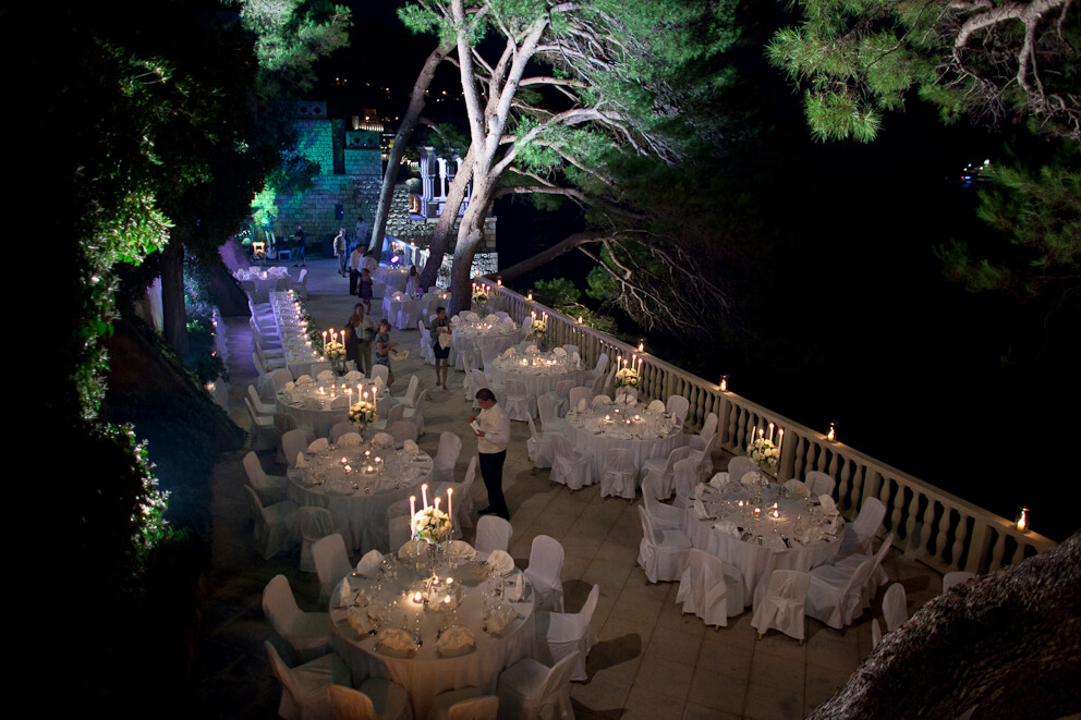 Dubrovnik event weddings reception 24