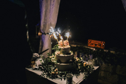 Dubrovnik event weddings reception cake 07