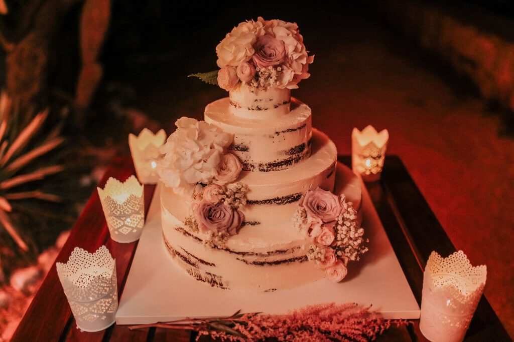Dubrovnik event weddings reception cake 11