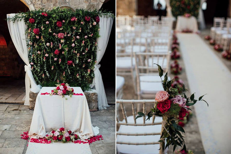 Dubrovnik event weddings reception decorations 02