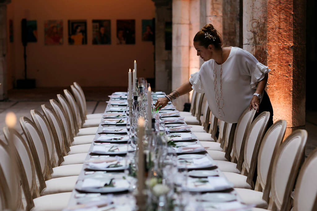 Dubrovnik event weddings reception decorations 03