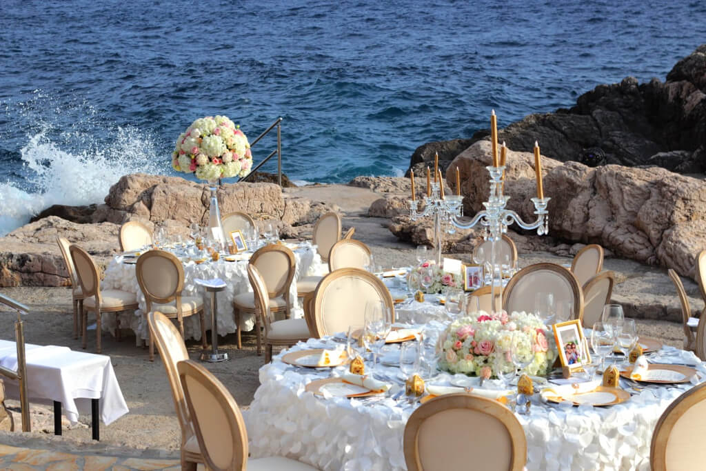 Dubrovnik event weddings reception decorations 08