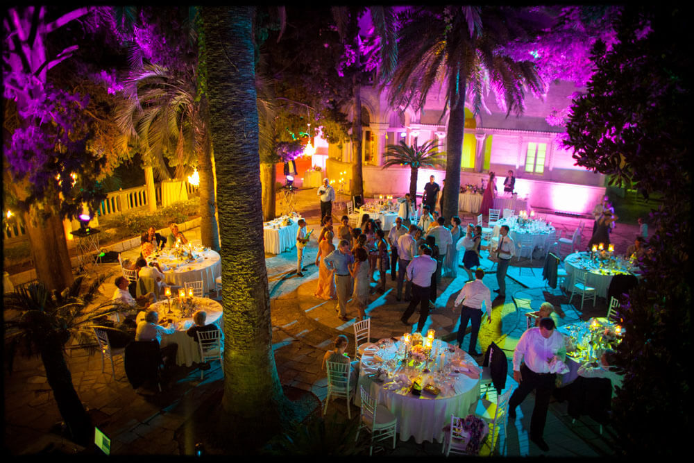 Dubrovnik event weddings reception decorations 09