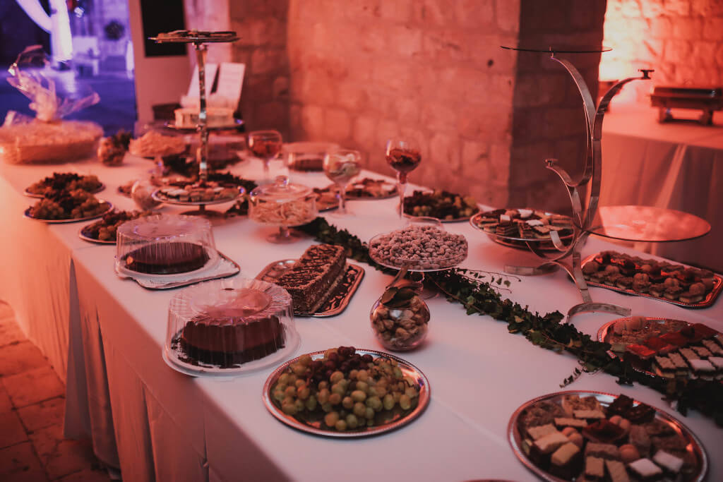 Dubrovnik event weddings reception decorations 20