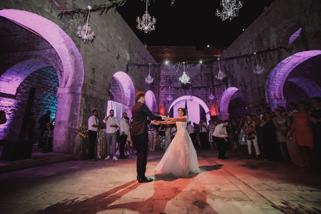 Dubrovnik event weddings reception decorations 21