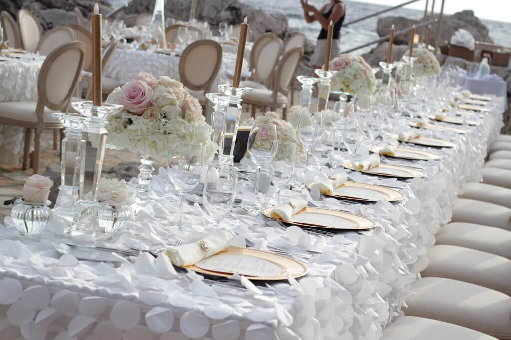 Dubrovnik event weddings reception decorations 22