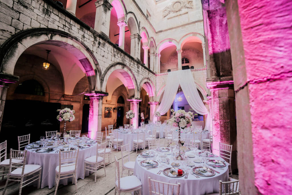 Dubrovnik event weddings reception decorations 31