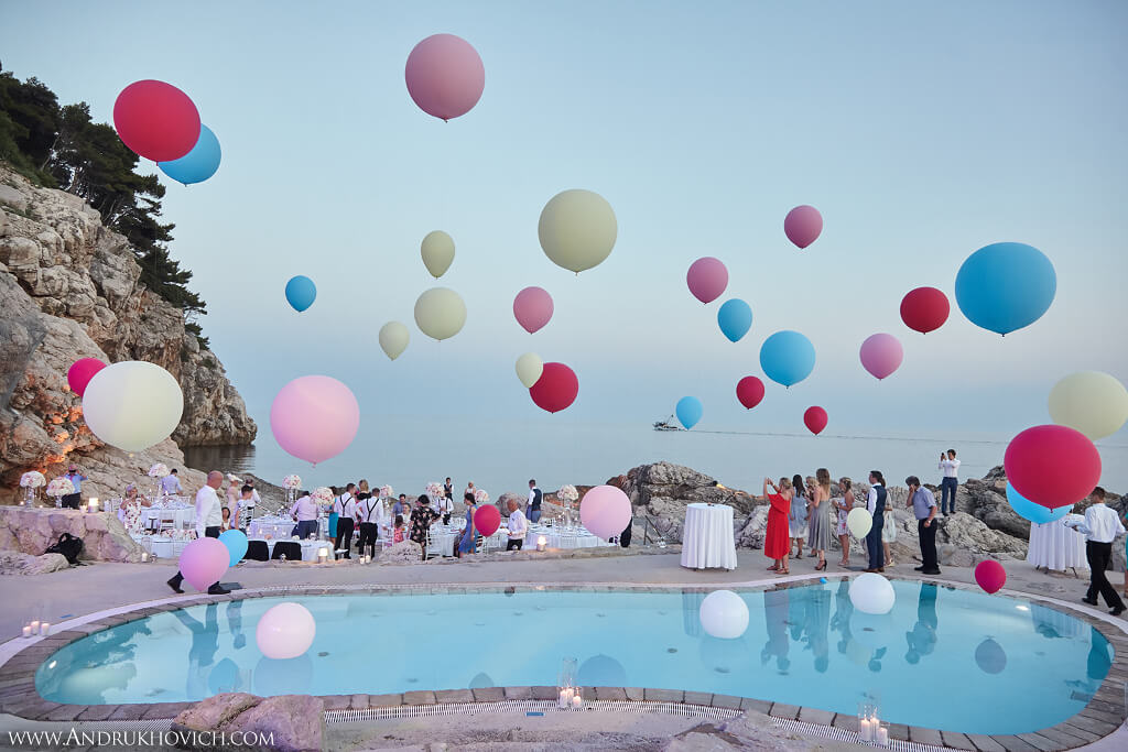 Dubrovnik event weddings reception decorations 35