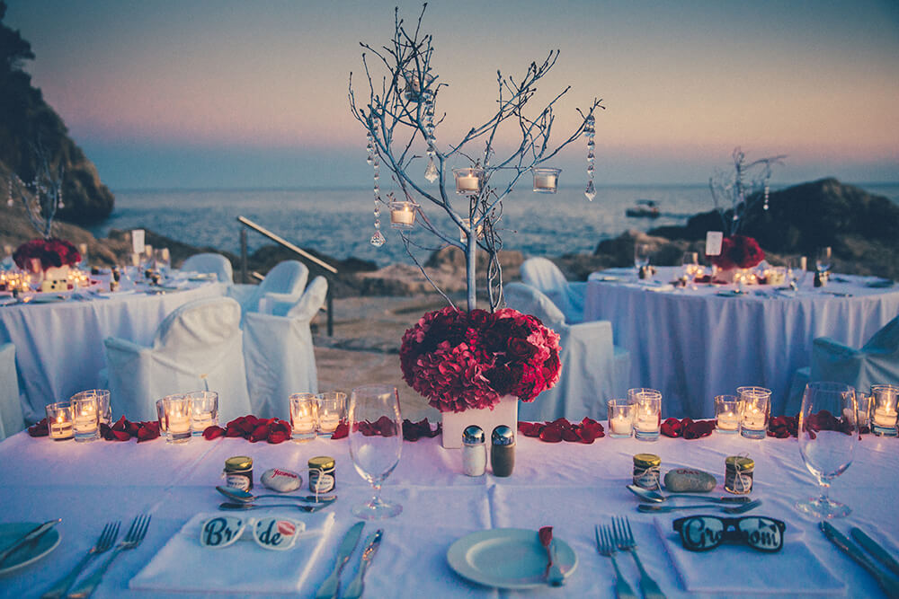 Dubrovnik event weddings reception decorations 43