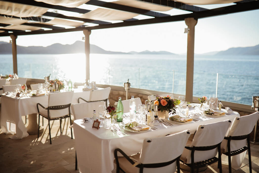 Dubrovnik event weddings reception decorations 45
