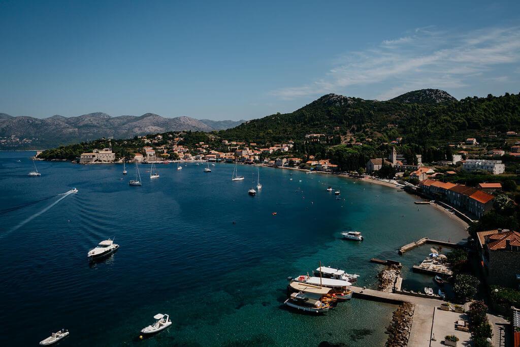 Lopud wedding by Dubrovnik Event Lauren Tom 21