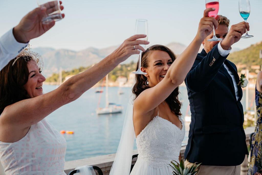 Lopud wedding by Dubrovnik Event Lauren Tom 30