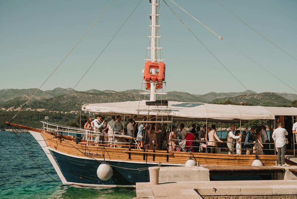 Villa Rose Wedding by Dubrovnik Event 11
