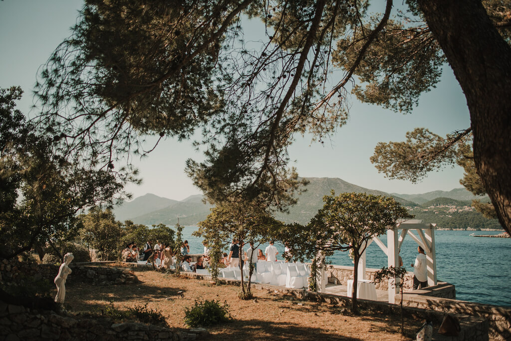 Villa Rose Wedding by Dubrovnik Event 12