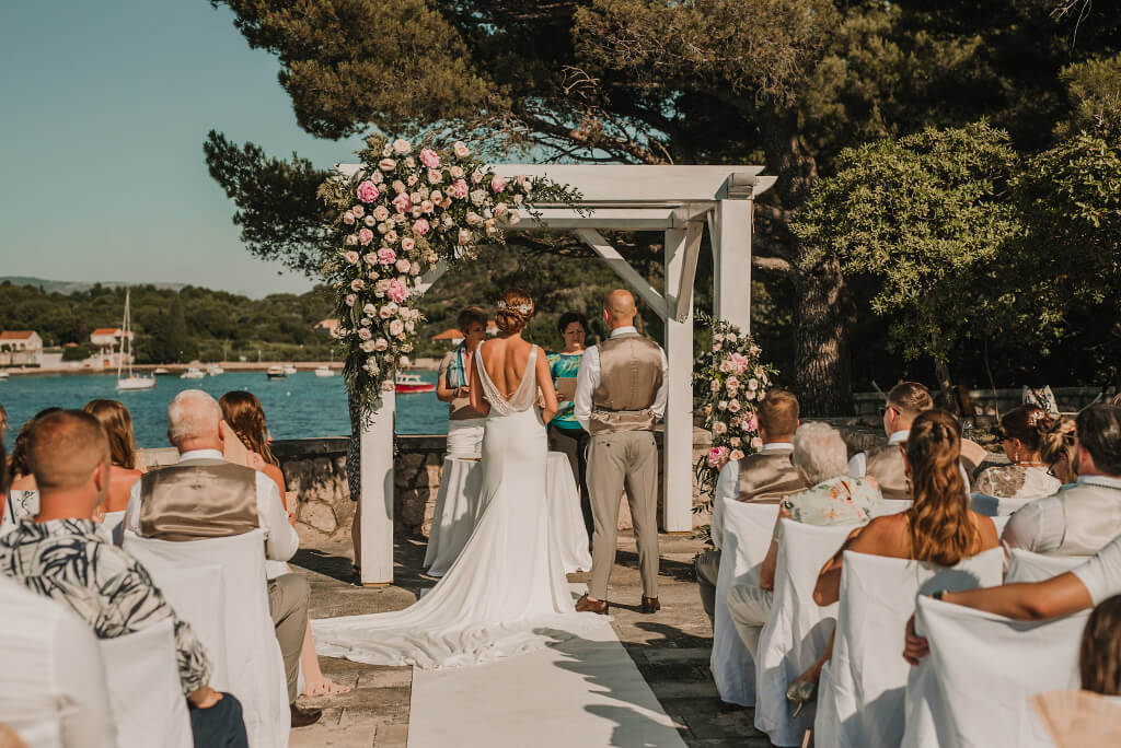 Villa Rose Wedding by Dubrovnik Event 14