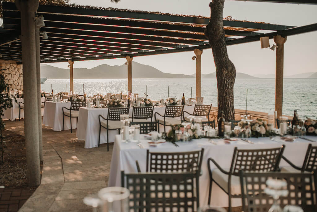 Villa Rose Wedding by Dubrovnik Event 19