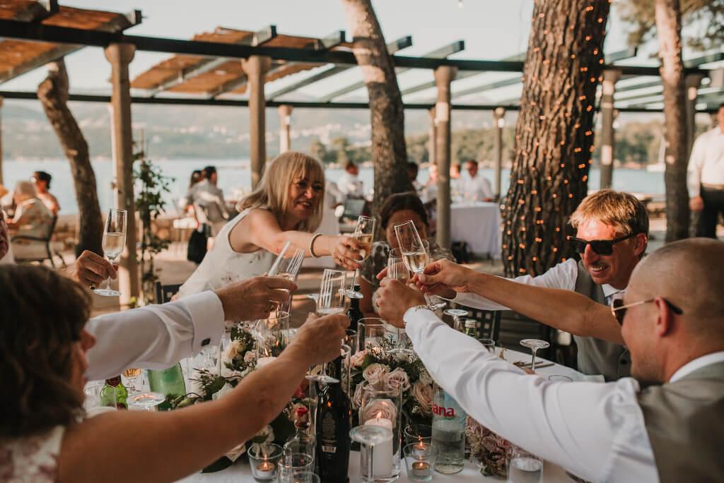 Villa Rose Wedding by Dubrovnik Event 24
