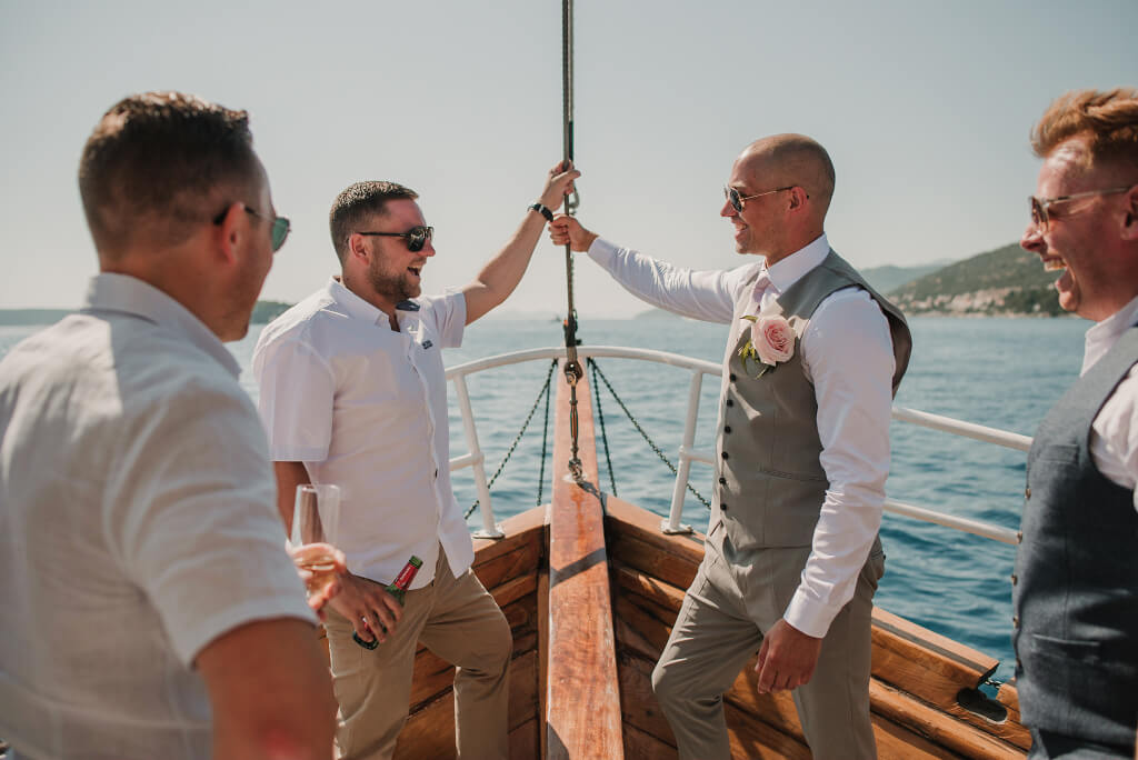 Villa Rose Wedding by Dubrovnik Event 9