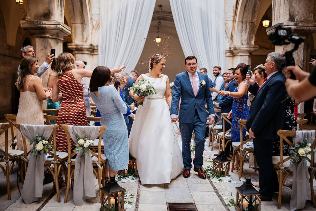 Louise and Andrew wedding by Dubrovnik Event 2019
