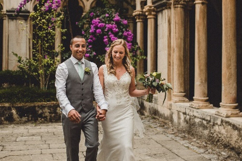 becky and george wedding by dubrovnik event