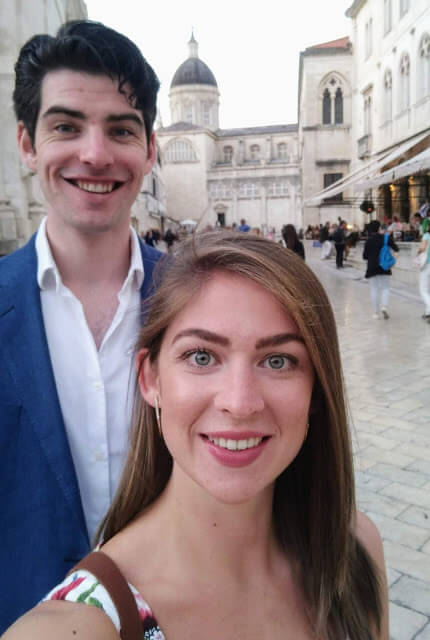 Sorcha and Dan Dubrovnik Wedding Corona