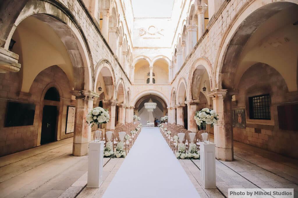 Sponza Palace Sorcha and Dans wedding ceremony venue
