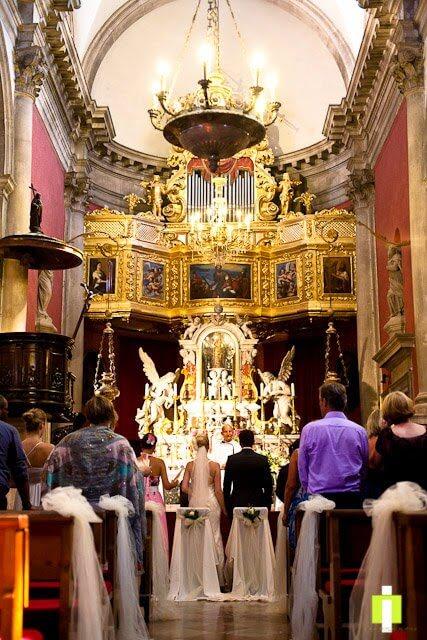Dubrovnik Event Dubrovnik Wedding Ceremony Venues Church of St. Blasius 02