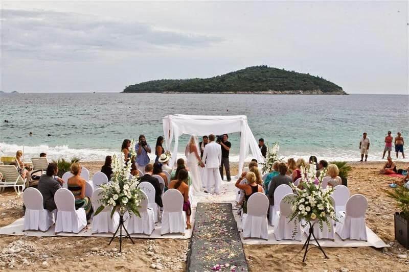 Dubrovnik Event Dubrovnik Wedding Ceremony Venues East West Beach 01