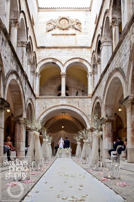 Dubrovnik Event Dubrovnik Wedding Ceremony Venues Sponza Palace Dubrovnik 03