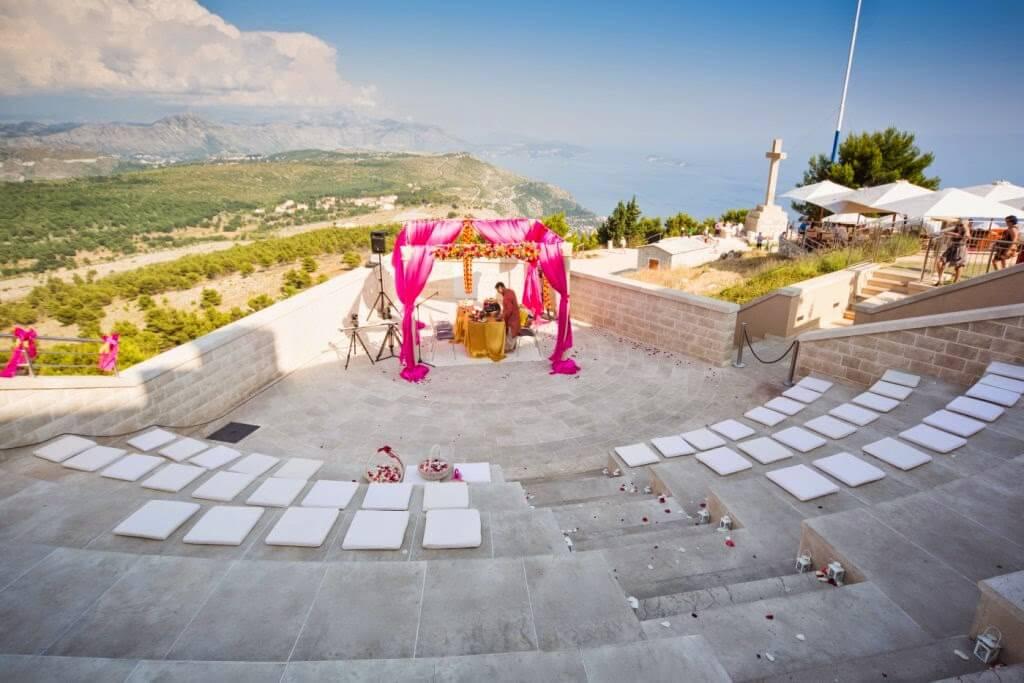 Dubrovnik Event Dubrovnik Wedding Ceremony Venues Srdj mountain